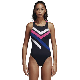 adidas Placed Print Swimsuit Women black/colourful
